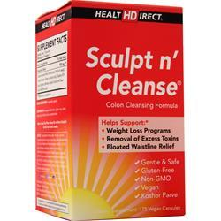 Health Direct Sculpt n' Cleanse 175 vcaps