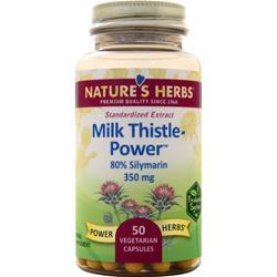 Nature's Herbs Milk Thistle Power - Standardized Extract 50 vcaps