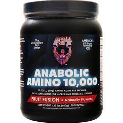 Healthy N Fit Anabolic Amino 10,000 Powder Fruit Fusion 1.32 lbs