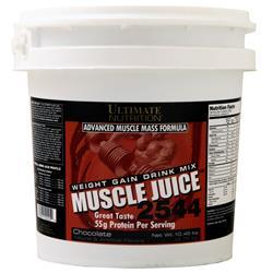 Ultimate Nutrition Muscle Juice 2544 Weight Gain Drink Mix Chocolate 10.45 lbs