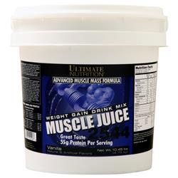 Ultimate Nutrition Muscle Juice 2544 Weight Gain Drink Mix Vanilla 10.45 lbs