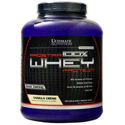 Ultimate Nutrition ProStar 100% Whey Protein Vanilla Creme 5.28 lbs