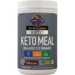 Garden Of Life Dr. Formulated Keto - Keto Meal Fair Trade Chocolate 700 grams