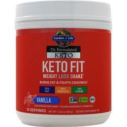Garden Of Life Dr. Formulated Keto - Keto Fit Vanilla 355 grams