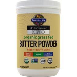 Garden Of Life Dr. Formulated Keto - Organic Grass Fed Butter Powder 300 grams