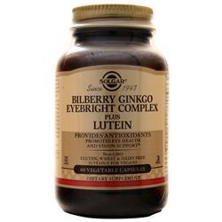 Solgar Bilberry Ginkgo Eyebright Complex plus Lutein 60 vcaps