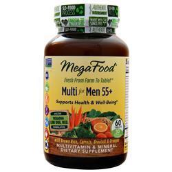 Megafood Multi for Men 55+ 60 tabs