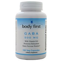 Body First Gaba (500mg) 100 vcaps