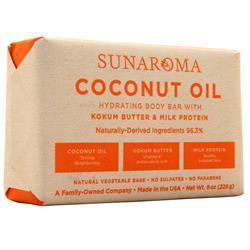 Sunaroma Body Bar Coconut Oil 8 oz