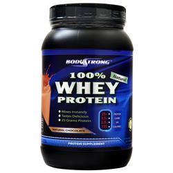 BodyStrong 100% Whey Protein - Natural Chocolate 2 lbs