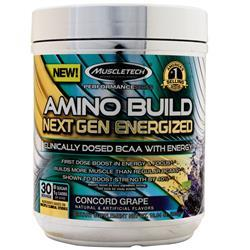 Muscletech Amino Build Next Gen Energized Concord Grape 285 grams
