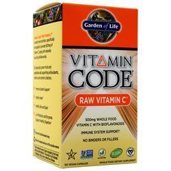 Garden Of Life Vitamin Code - Raw Vitamin C 120 vcaps