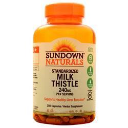 Sundown Naturals Milk Thistle 250 caps