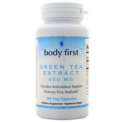 Body First Green Tea Extract (400mg) 100 vcaps