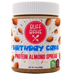 Buff Bake Protein Almond Spread Birthday Cake 13 oz