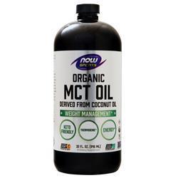 Now Sports MCT Oil - Organic 32 fl.oz