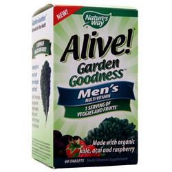Nature's Way Alive! Garden Goodness - Men's Multi-vitamin 60 tabs
