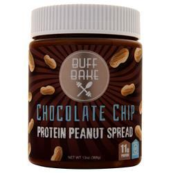 Buff Bake Protein Peanut Spread Chocolate Chip 13 oz