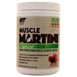 GAT Muscle Martini Natural Mixed Berry 345 grams