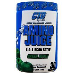 CTD Amino Juice 2:1:1 BCAA Green Apple 231 grams