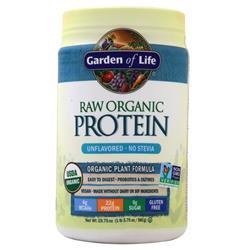 Garden Of Life Raw Organic Protein Unflavored - No Stevia 560 grams