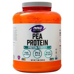 Now Pea Protein Unflavored 7 lbs