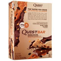 Quest Nutrition Quest Bar Peanut Butter Brownie Smash 12 bars