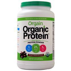 Orgain Organic Protein - Plant Based Powder Creamy Chocolate Fudge 2.03 lbs