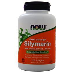 Now Silymarin (450mg) 120 sgels