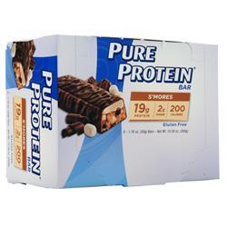 Worldwide Sports Pure Protein Bar S'mores BEST BY 12/10/19 6 bars