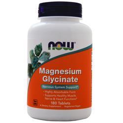 Now Magnesium Glycinate 180 tabs