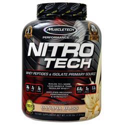 Muscletech Nitro Tech - Performance Series Banana Bliss 4 lbs