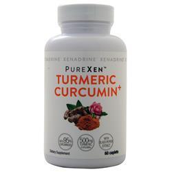 Iovate Xenadrine - PureXen Turmeric Curcumin+ 60 cplts