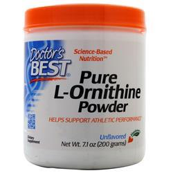 Doctor's Best Pure L-Ornithine Powder Unflavored 200 grams