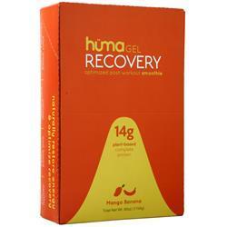 Huma Products Huma Gel Recovery Smoothie Mango Banana 12 pckts