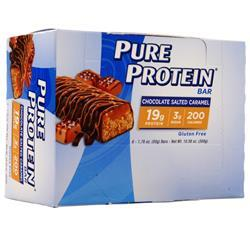 Worldwide Sports Pure Protein Bar Chocolate Salted Caramel 6 bars