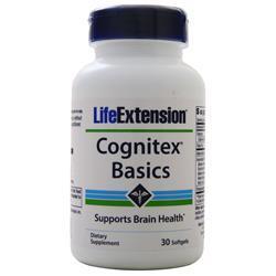 Life Extension Cognitex Basics 30 sgels