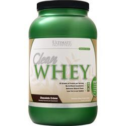 Ultimate Nutrition Clean Whey (Buy 1 Get 1 Free) Chocolate Creme 4 lbs