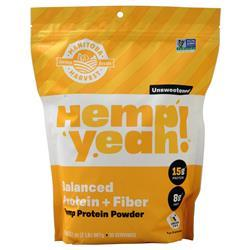Manitoba Harvest Hemp Yeah! Balanced Protein + Fiber Unsweetened 2 lbs