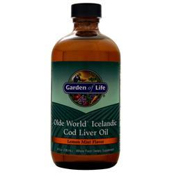 Garden Of Life Olde World Icelandic Cod Liver Oil Lemon Mint 8 fl.oz