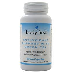 Body First Antioxidant Support with Green Tea 60 vcaps