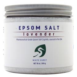 White Egret Epsom Salt Lavender 16 oz