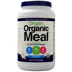 Orgain Organic Meal All-In-One Nutrition Vanilla Bean 2.01 lbs
