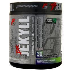 Pro Supps Dr. Jekyll Stimulant-Free Pre Workout Blueberry Lemonade 255 grams
