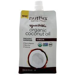 Nutiva Organic Coconut Oil - Squeezable on sale at