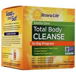 Renew Life Total Body Cleanse  EXPIRES 12/19 1 kit