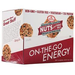 Betty Lou's Nuts About  Energy Balls Peanut Chocolate Chip BEST BY 6/12/19 30 balls