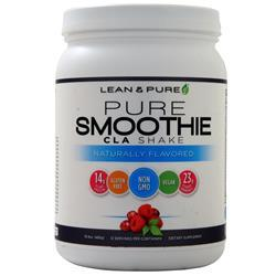 Olympian Labs Lean & Pure - Pure Smoothie CLA Shake Naturally Flavored 480 grams