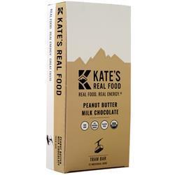 Kate's Real Food Kate's Real Food Bar Tram Bar (Peanut Butter Milk Chocolate) 12 bars