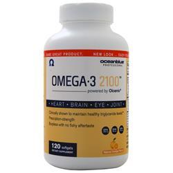 Oceanblue Omega-3 2100 Natural Orange 120 sgels